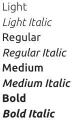 Google Fonts Ubuntu